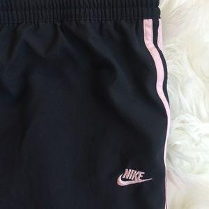Nike Pants - NIKE Women's Capris with Pink Stripes